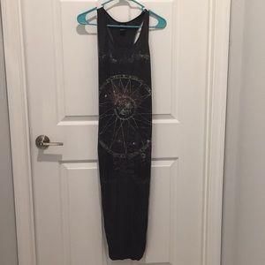 Dark Midi dress 🌚 cosmic ⭐️ astrology